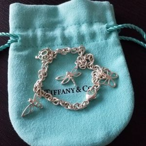 Tiffany & Co. Sterling Silver Dragonfly Butterfly